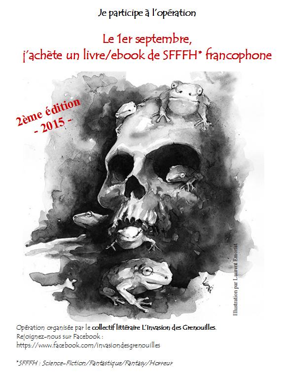 Le 1er septembre, j'achète un livre/ebook de SFFFH francophone - 2ème édition -