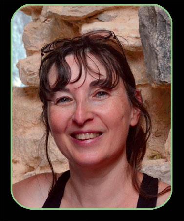 La romancière de fantasy Catherine Boullery