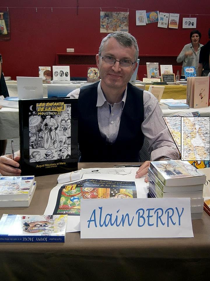Avec Alain Berry, illustrateur Sartrouvillois