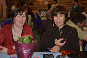Catherine Boullery et Catherine Vaillant d'UPblisher