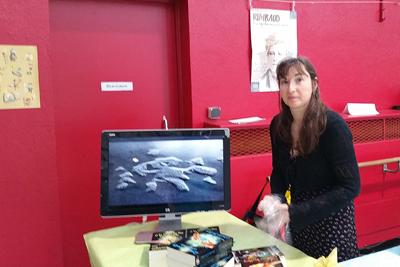 Catherine Boullery au Salon du livre de Sartrouville 2015