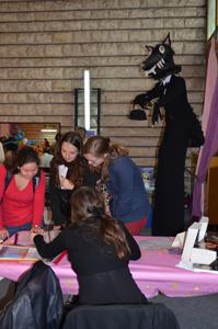 Salon du livre de Sartrouville 2013 sous le signe de la frousse